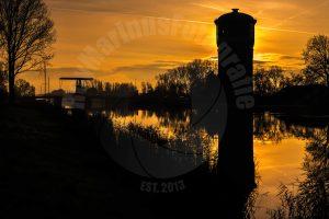 De watertoren in Assendelft aan de vaart